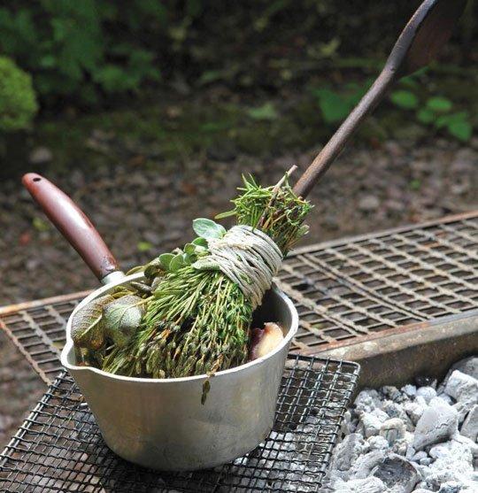 herb brush